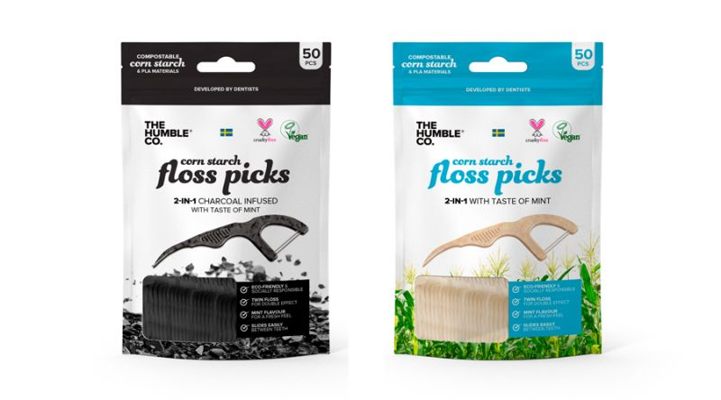 Floss picks -  The Humble Co.