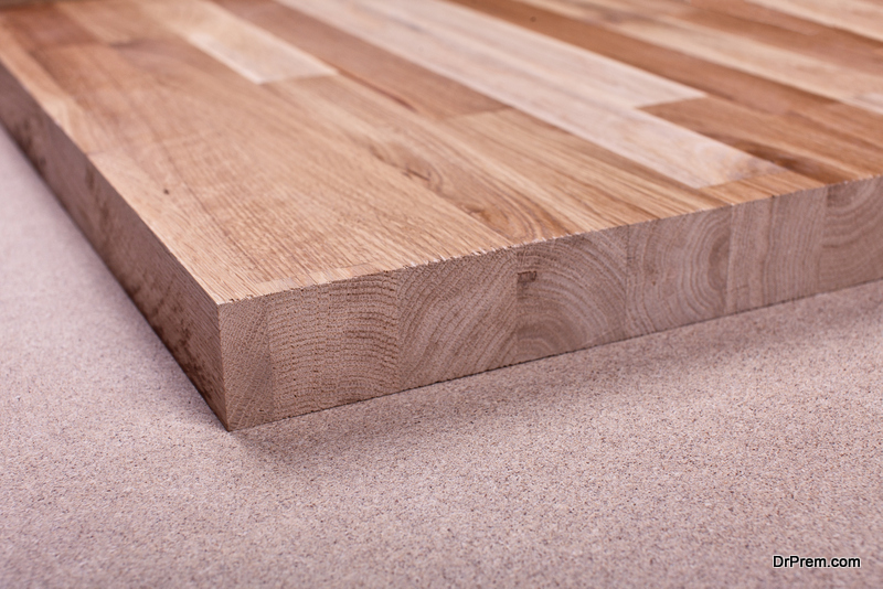 Select FSC certified wood