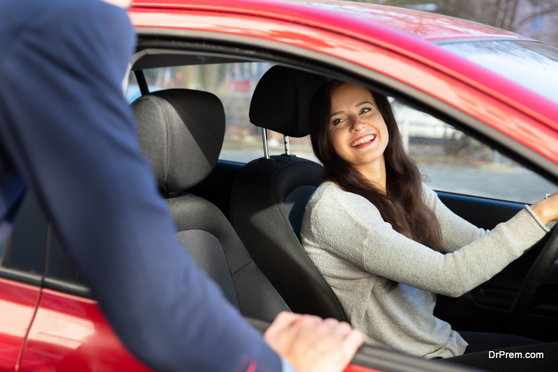 Encourage your guests to carpool