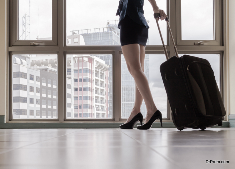 Pack light even when traveling for business