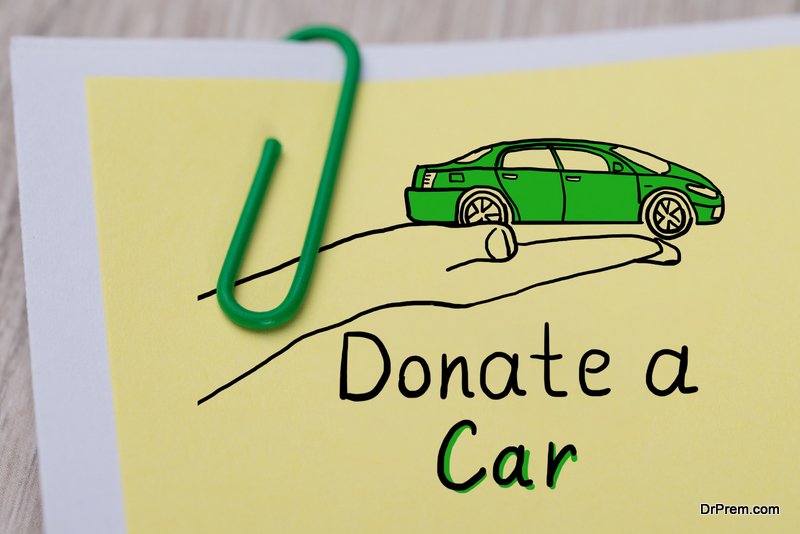 Donate your car to a charity