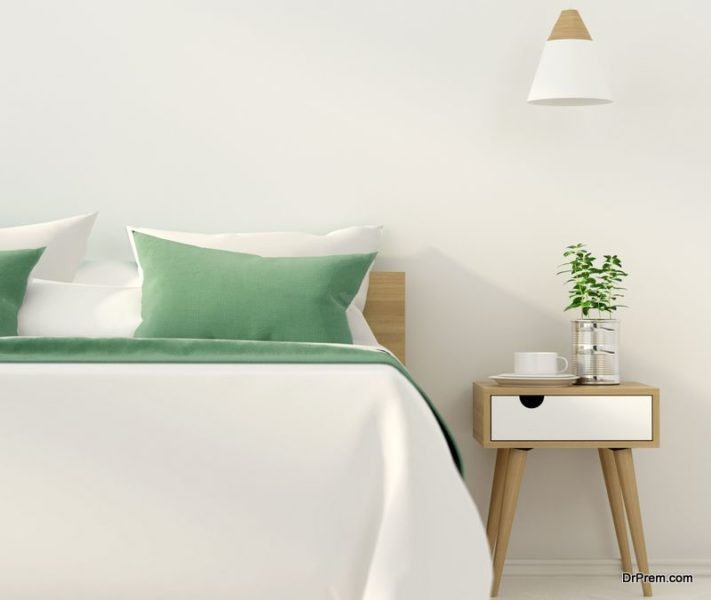 Keep a house plant on your nightstand