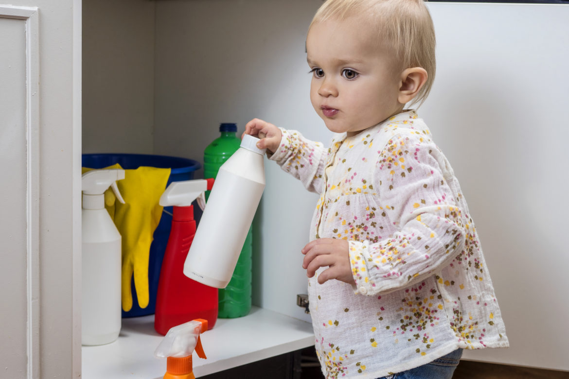 Hazardous materials - childproof your home
