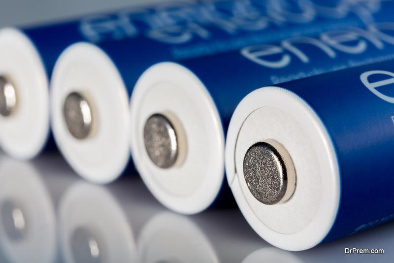 Set of Eneloop batteries