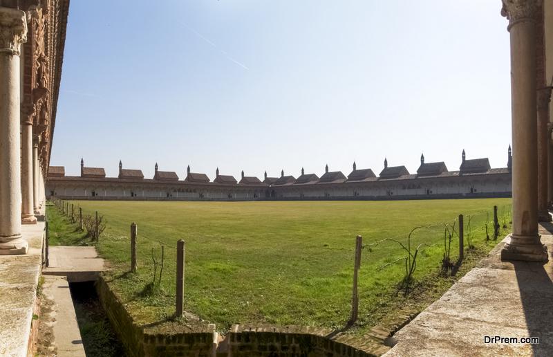Carthusian monastery design