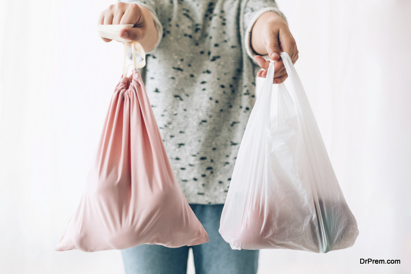 Stop using plastic carrier bags