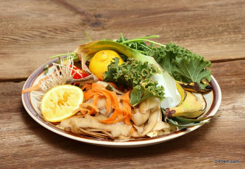 Save leftover vegetables