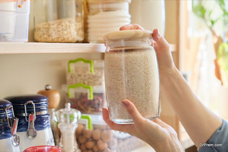 repurposed glass jars