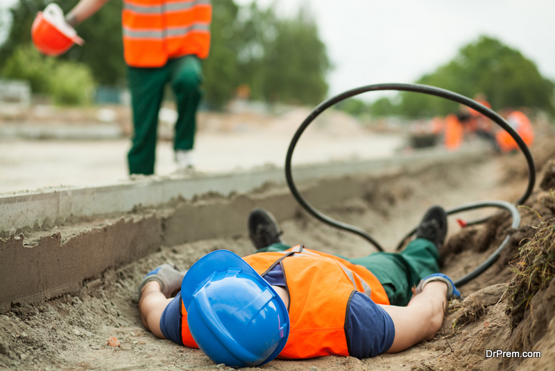 Construction Site Accident
