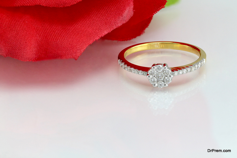Ethical Lab Grown Diamond Engagement Ring