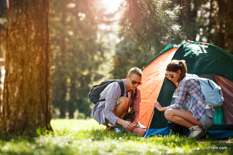 Be More Green When You Go Camping