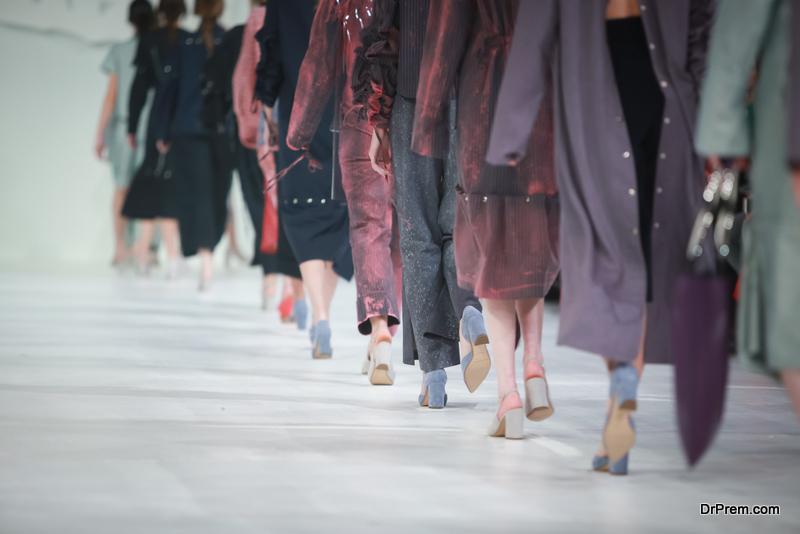 high-end fashion show