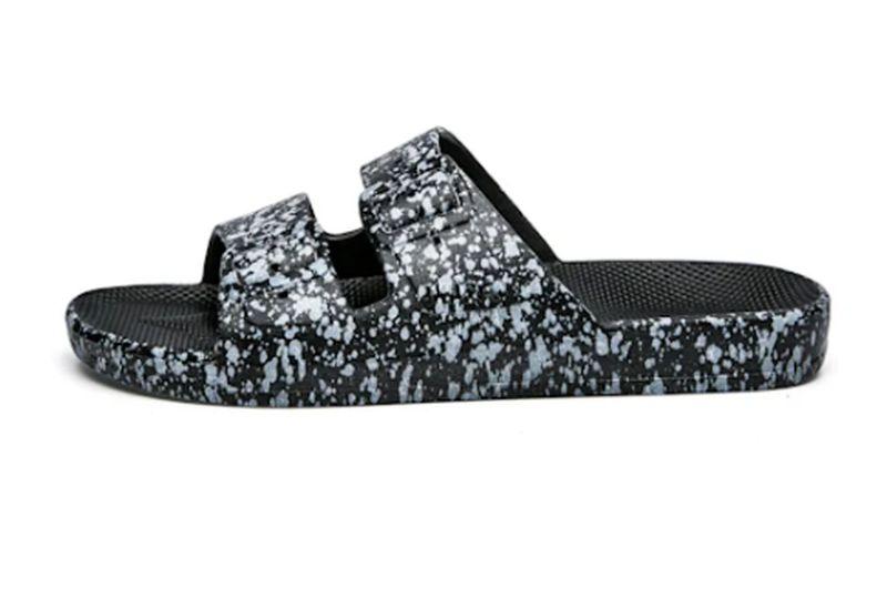classic black slides