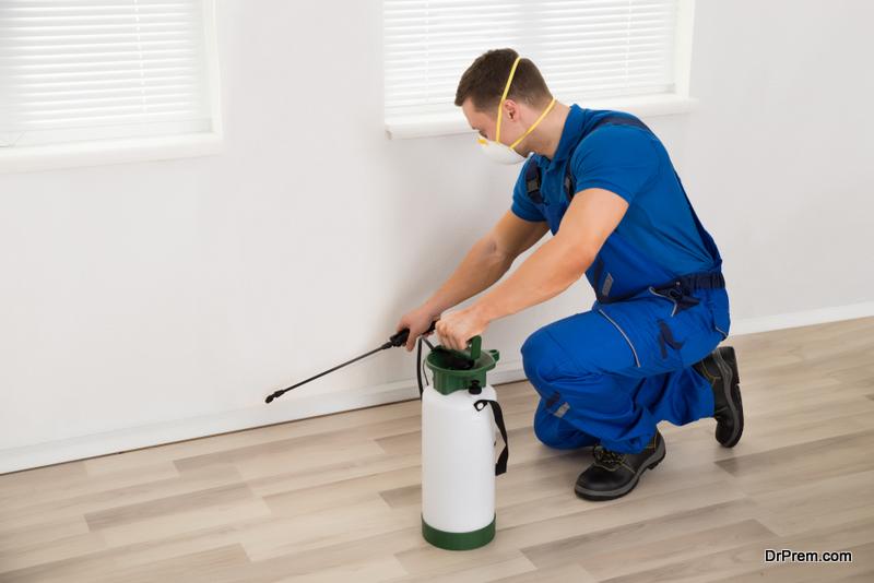 chemicals spray